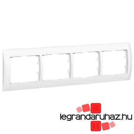 Legrand Galea Life keret négyes vízszintes, fehér 771004