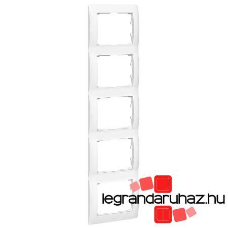 Legrand Galea Life keret ötös függőleges, fehér 771009