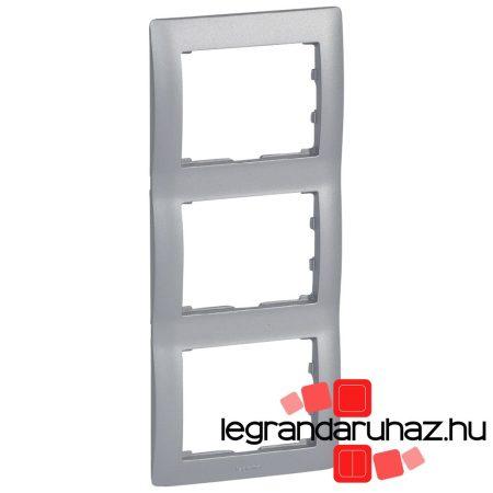 Legrand Galea Life keret hármas függőleges, alumínium 771307