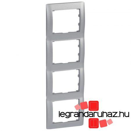 Legrand Galea Life keret négyes függőleges, alumínium 771308