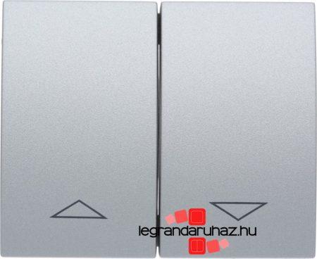 Legrand Galea Life redőnyvezérlő kettős billentyű, alumínium 771314