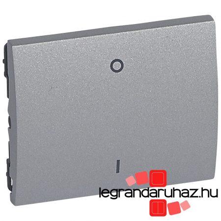 Legrand Galea Life I-0 billentyű, alumínium 771315