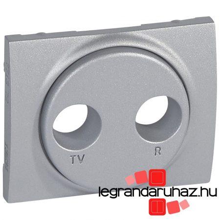 Legrand Galea Life TV-RD burkolat alumínium 771372