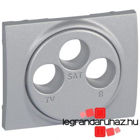 Legrand Galea Life TV-RD-SAT burkolat 2 km alumínium 771373