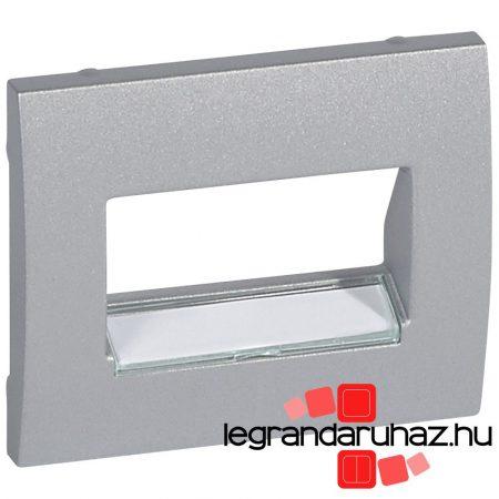 Legrand Galea Life 2XRJ11/45 burkolat alumínium 771375