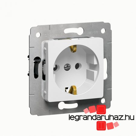Legrand Cariva 2P+F csatlakozóaljzat fehér 773620