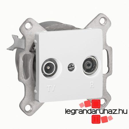Legrand Cariva TV-RD aljzat átmenő 14 dB keret nélkül fehér 773634