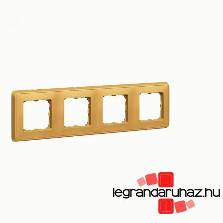 Legrand Cariva négyes keret, arany 773664