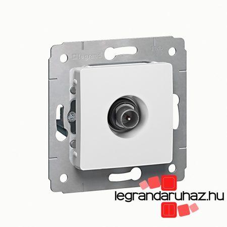 Legrand Cariva TV aljzat átmenő 14dB keret nélkül fehér 773680