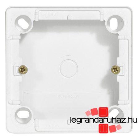 Legrand Cariva kiemelődoboz kapcsolóhoz, 25 mm mély, fehér 773696