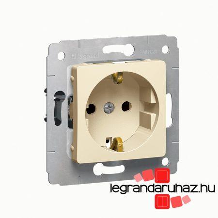 Legrand Cariva 2P+F aljzat gyermekvédelem bézs 773721