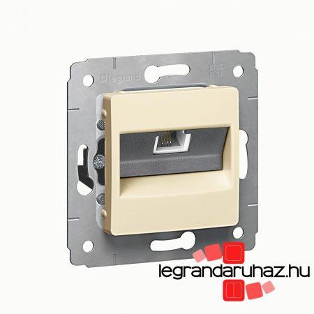 Legrand Cariva telefoncsatlakozó 1XRJ11 keret nélkül bézs 773738