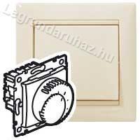 Legrand Valena komfort termosztát elefántcsont 774127