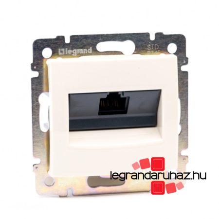 Legrand Valena 1XRJ45 LCS2 Cat5e UTP informatikai csatlakozóaljzat,csavaros, elefántcsont 774138
