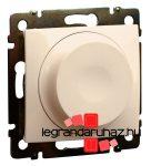 Legrand Valena forgatógombos fényerőszabályzó elefántcsont 2 vezetékes, 300W, LED-hez is 774163