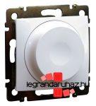 Legrand Valena forgatógombos fényerőszabályzó fehér 2 vezetékes, 300W, LED-hez is 774263