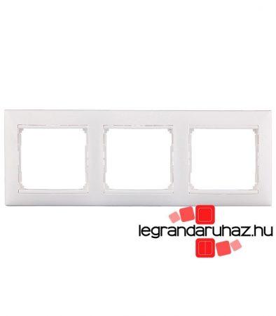 Legrand Valena hármas keret vízszintes fehér 774453