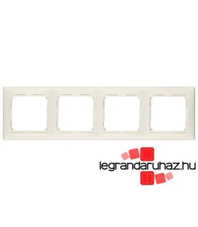 Legrand Valena négyes keret vízszintes fehér 774454