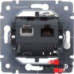 Legrand Galea Life speciális 1XRJ45 cat 6 UTP + 1XRJ11 mechanizmus 775781