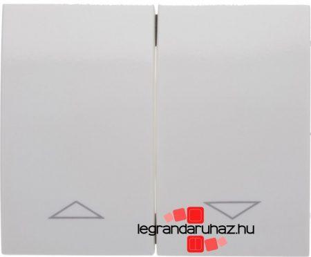 Legrand Galea Life redőnyvezérlő kettős billentyű, fehér 777014