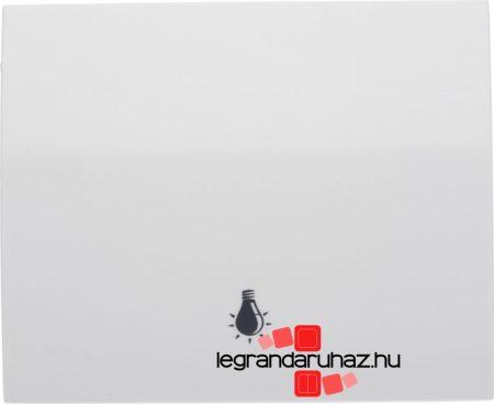 Legrand Galea Life billentyű lámpajellel, fehér 777044