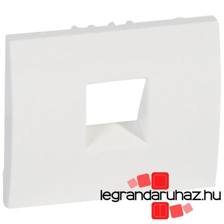 Legrand Galea Life 1XRJ11/45 burkolat, fehér 777095