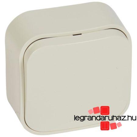Legrand Forix IP20 falon kívüli egypólusú nyomó, 6A - 250 V~ bézs 782435