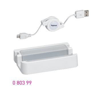 Legrand USB töltő állomás